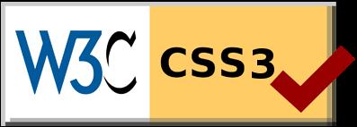 Esta página cumple con las normas CSS3 de W3C